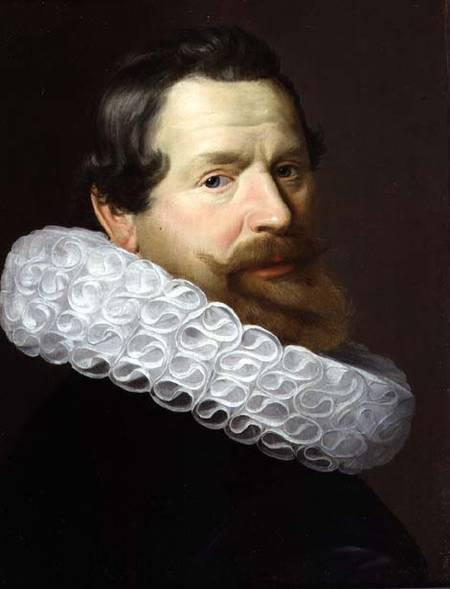 Portrait of a man wearing a Dutch Ruff