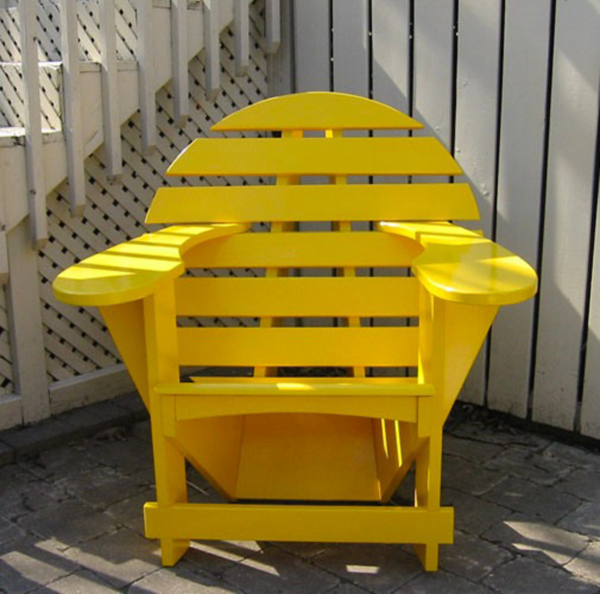 Yellow Lodge Chair by Jardinique