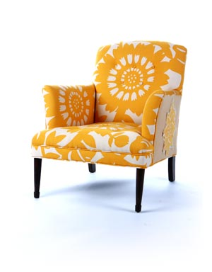 Happy Chair is the furniture collection and a creative expression of former  NASCAR race driver Shawna Robinson, whose background in professional racing  ...
