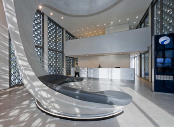Moroccan Bank built around a Bench by Norman Foster 8