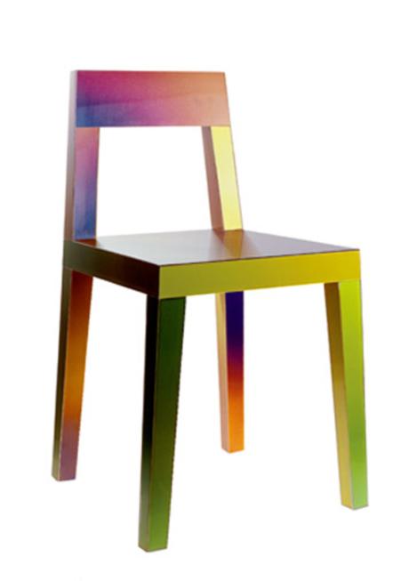 Chromatic Chair by Matt Sindall