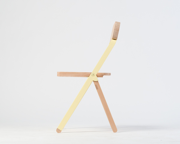 Profile Chair by Knauf and Brown Side
