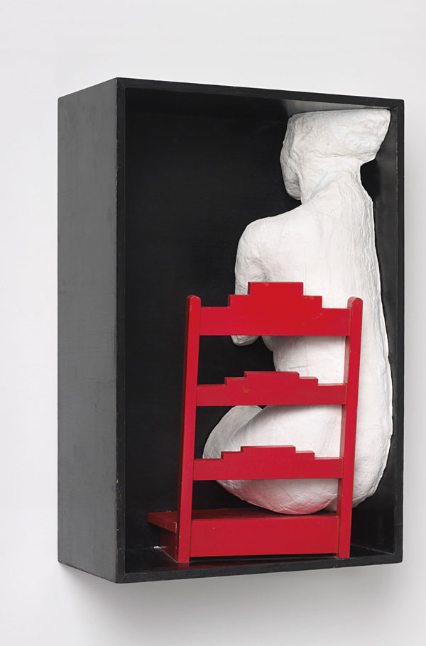 George Segal Girl on a Chair, 1970