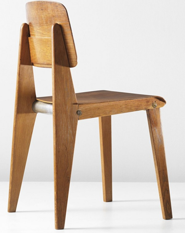 PHILLIPS - NY050312, Jean Prouvé, Rare demountable chair, model no. CB22 2014-04-24 22-49-39
