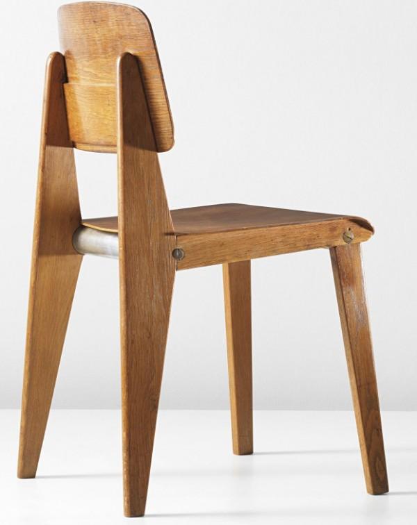 PHILLIPS - NY050312, Jean Prouvé, Rare demountable chair, model no. CB22 2014-04-24 22-49-39