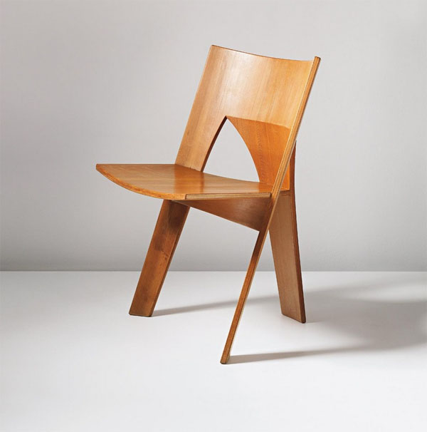 Prototype Dining Chair by Nanna Ditzel