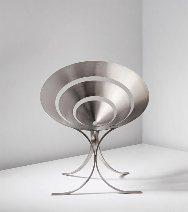 Ring Chair by Maria Pergay