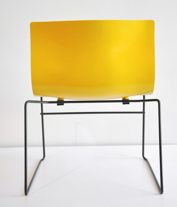 Handkerchief Chair by Massimo Vignelli back