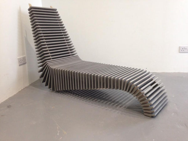 New Lounge Chair by Anthony Hartley