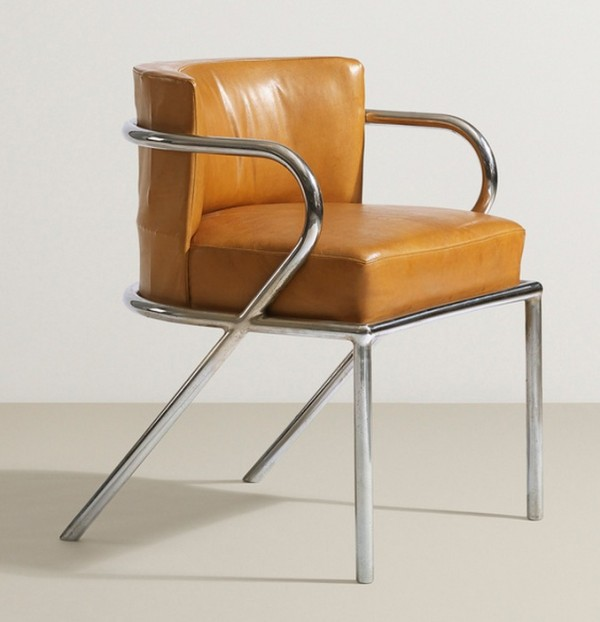 201  René Herbst   armchair   Design and Decoration  The Alan Moss Collection  7 October 2014   Auctions   Wright