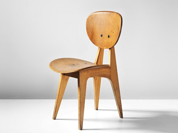 Junzo Sakakura side chair, model no 3221