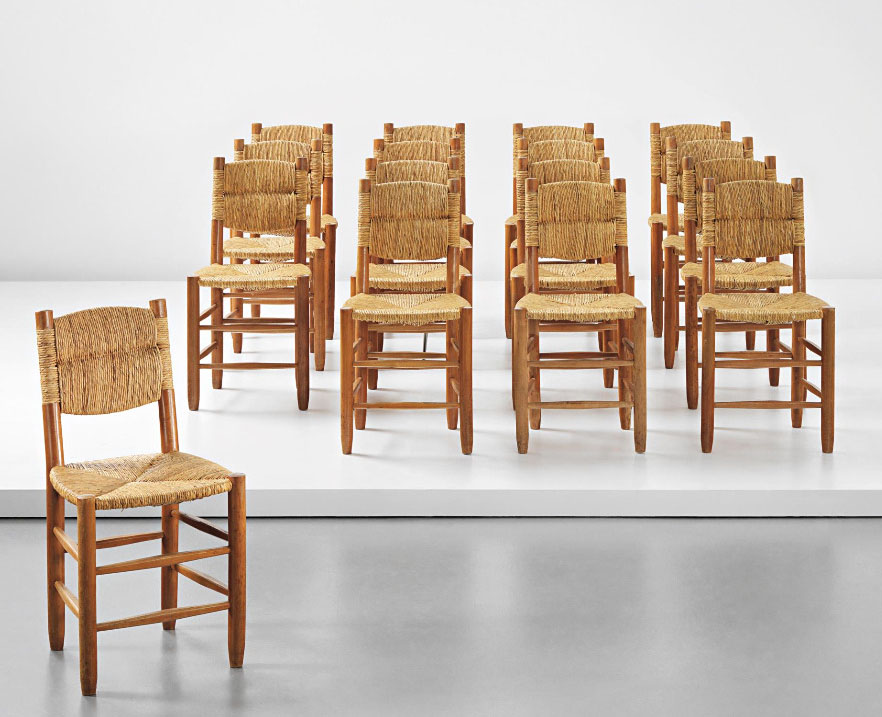 Dining Chairs By Charlotte Perriand