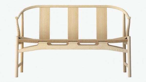 PP 266 Bench by Hans Wegner
