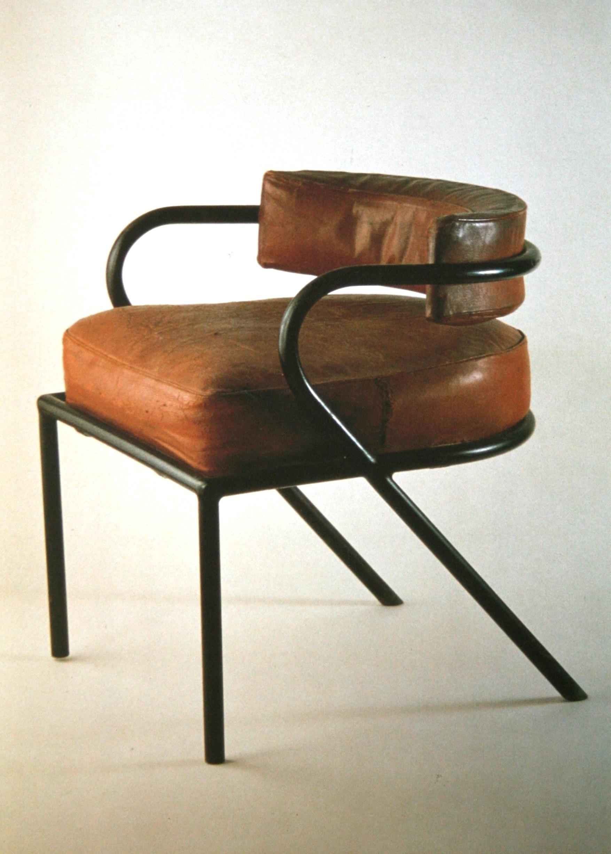 New Tubular Chair by Ren Herbst