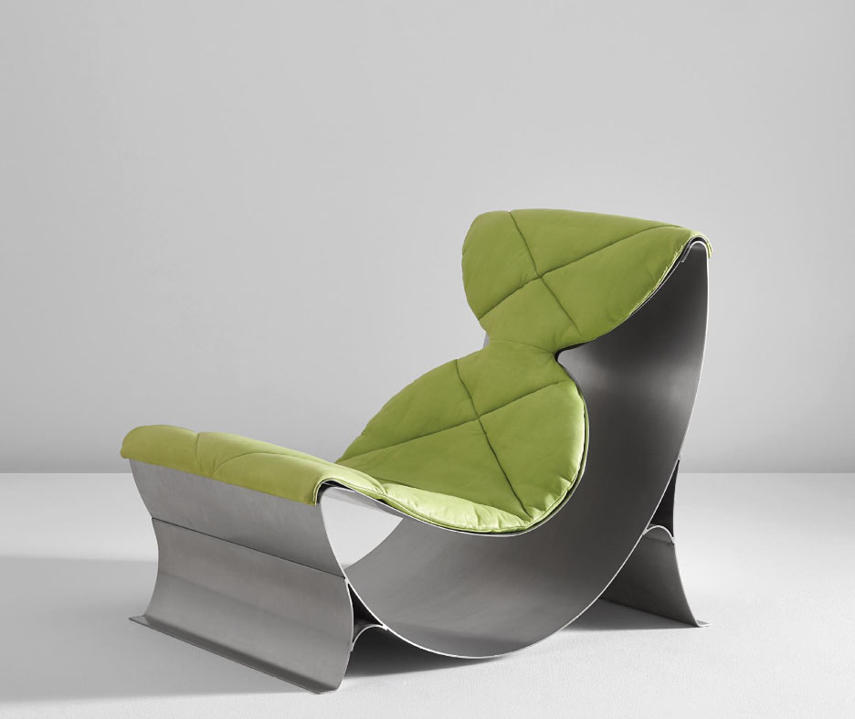Maria Pergay Lounge Chair