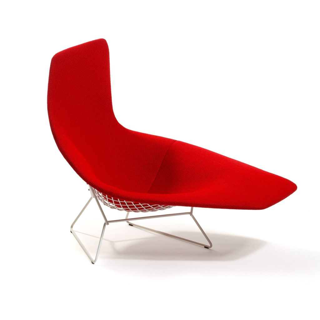 Harry Bertoia Asymmetric Chair
