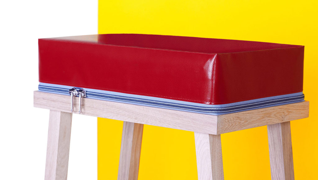 True Colors Stool by Visser & Meijwaard