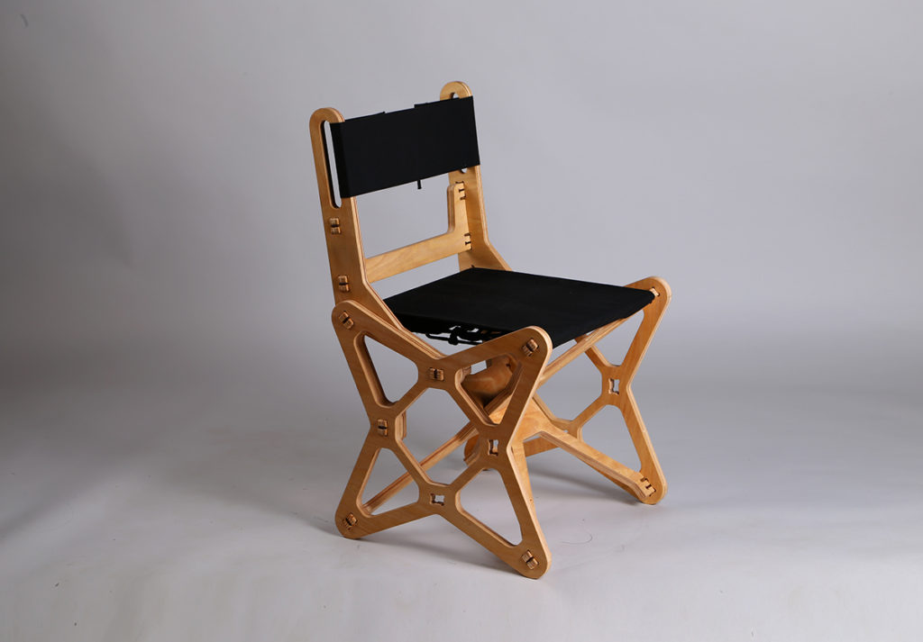Electron Chair by Konstantin Achkov side1