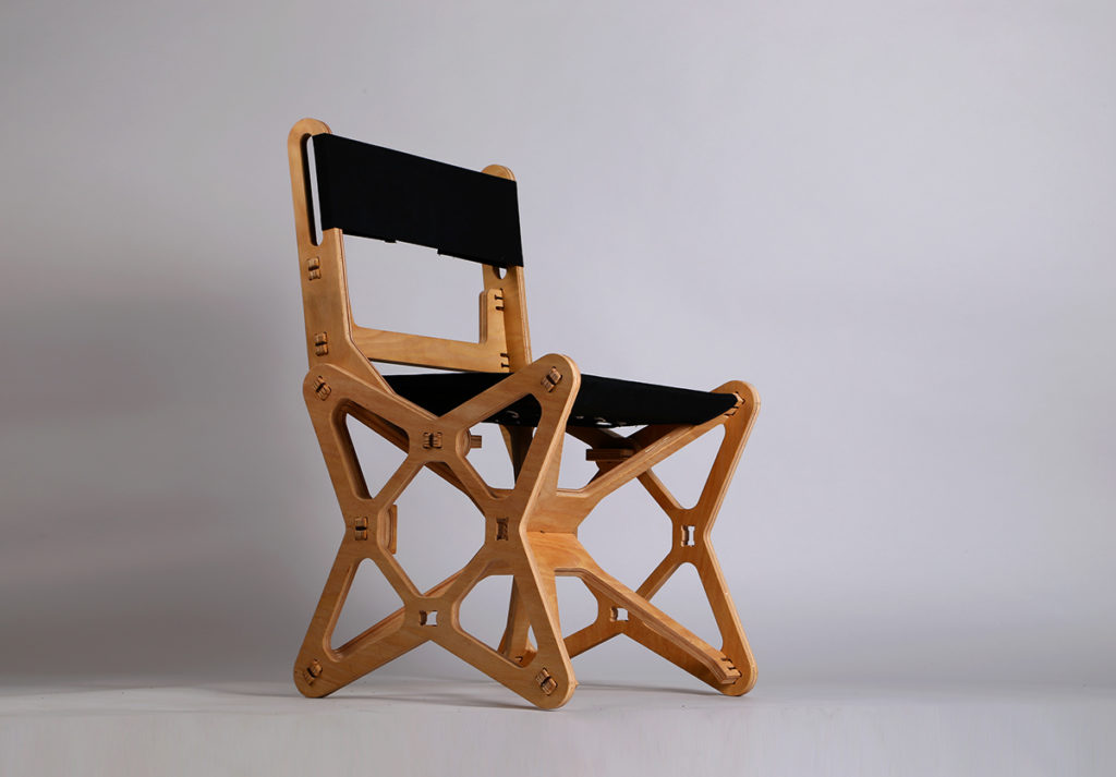 Electron Chair by Konstantin Achkov side2