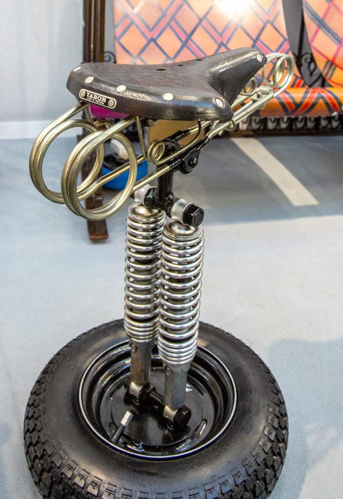 Bike Saddle Stool