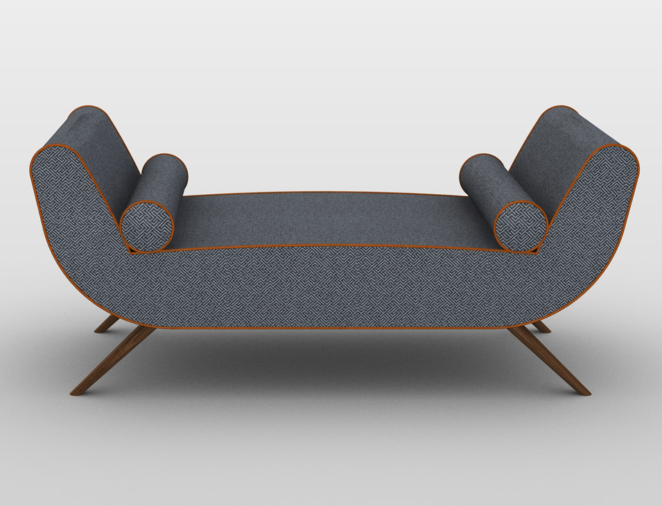 Juliette Daybed by Tristan Noirot-Nérin