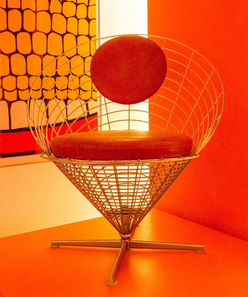 Ice Cream Chair by Verner Panton