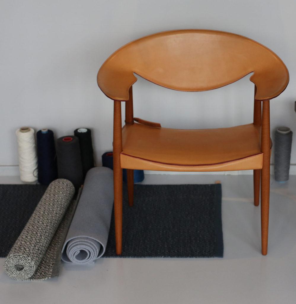 LM92 or Metropolitan Chair by Ejner Larsen & Aksel Bender Madsen