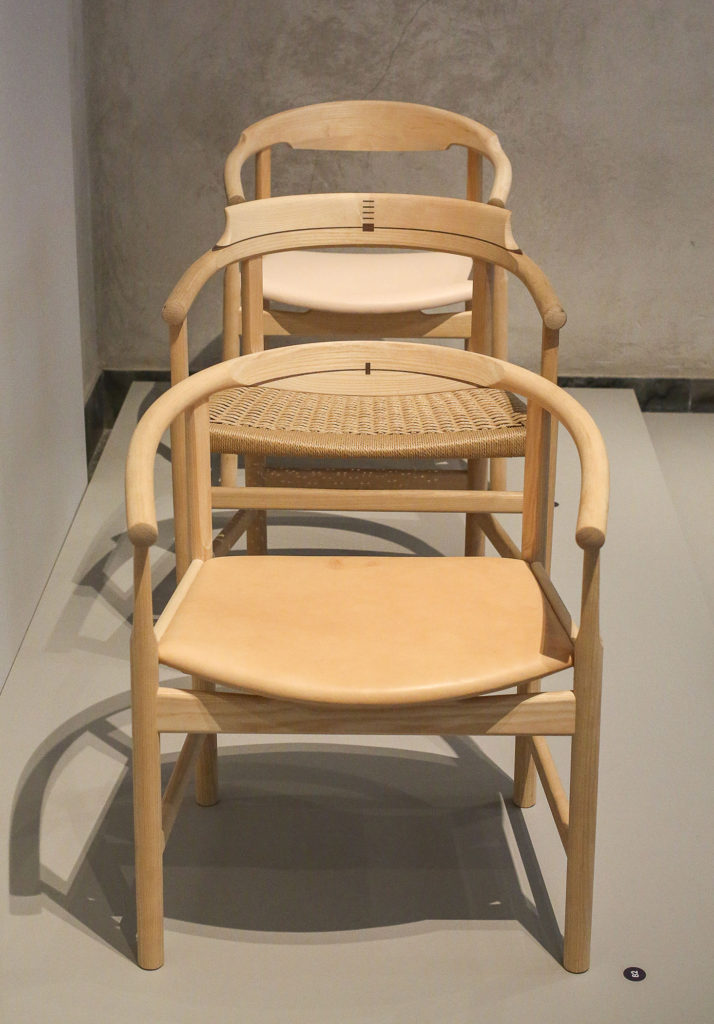 PP201 Chair and PP58 Chair by Hans Wegner - Chairblog.eu