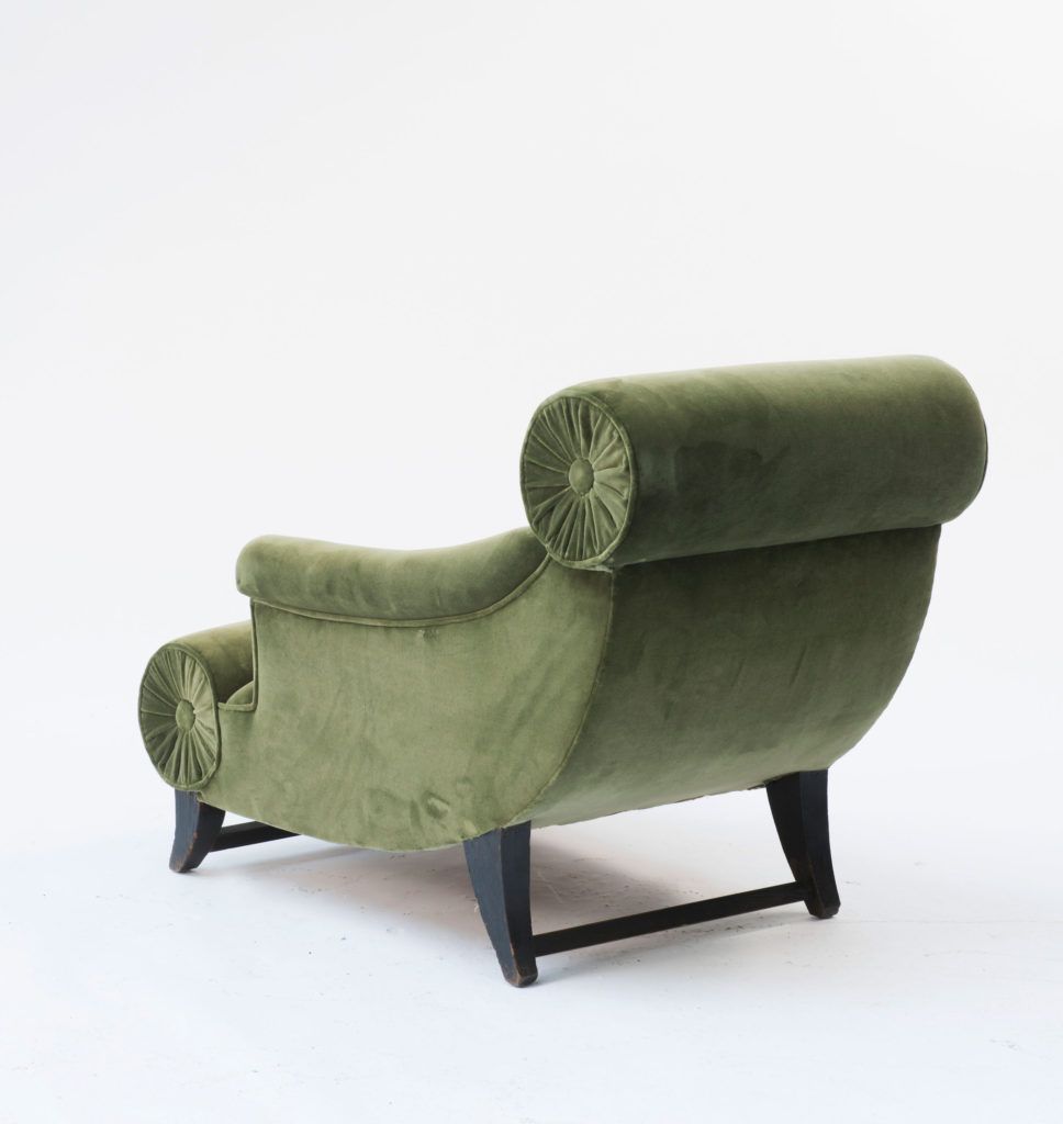 Knieschwimmer Armchair Back view