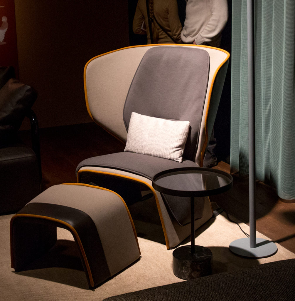 570 Gender Lounge Chair by Patricia Urquiola