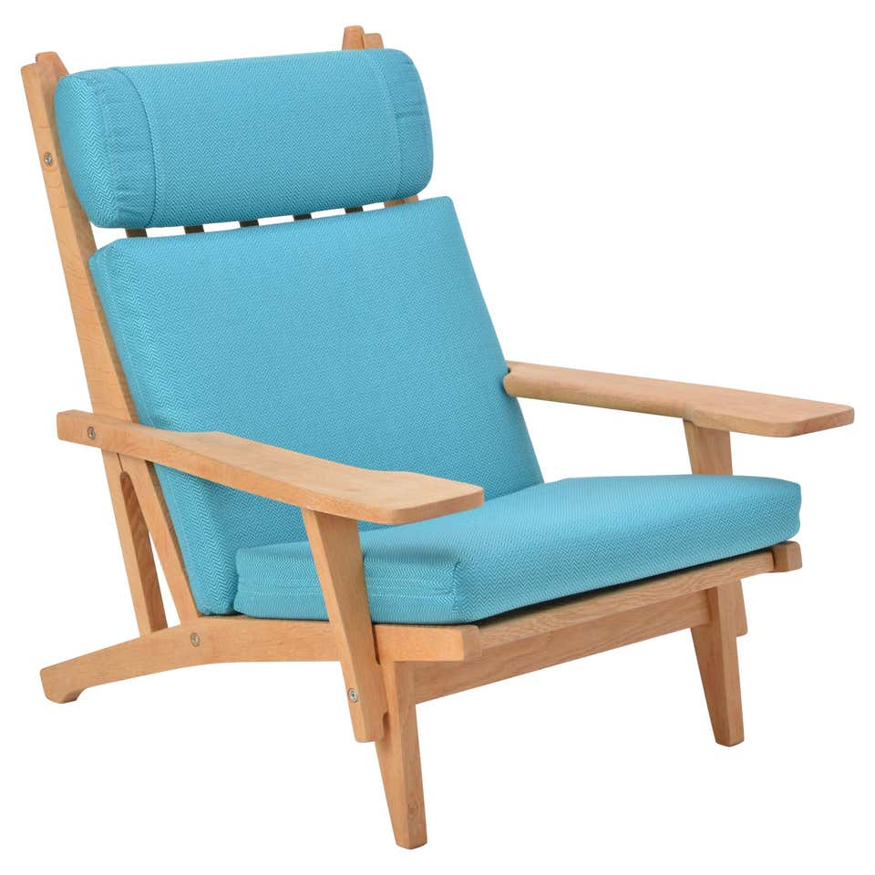 GE 375 Easy Chair by Hans J. Wegner