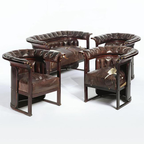 4 Josef Hoffmann Armchairs at Sotheby's