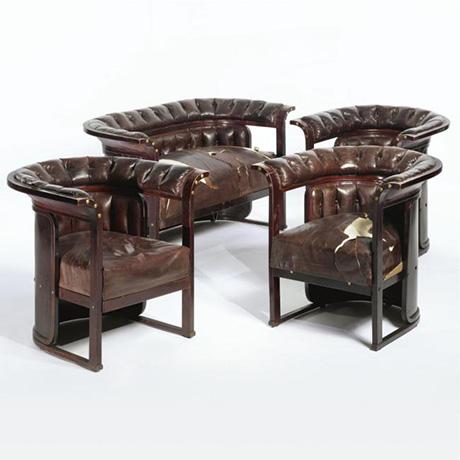 4 Josef Hoffmann Armchairs At Sotheby S Chairblog Eu