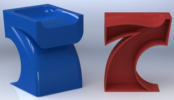 7 stool