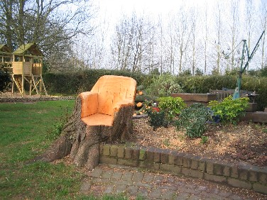 After The Tree Fell Armchair