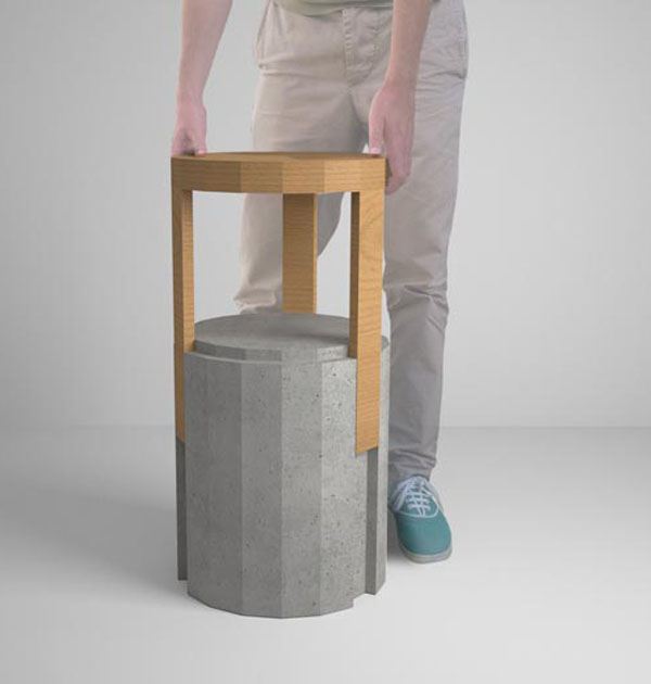 Imprint Stools by NOCC