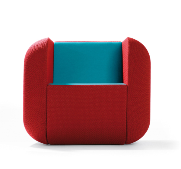 Apps Chair Red and Blue-by-Richard-Hutten-for-Artifort