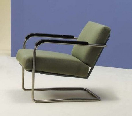 Armchair by Werner Max Moser