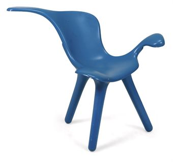 Asymmetric Chair by Mark Robson