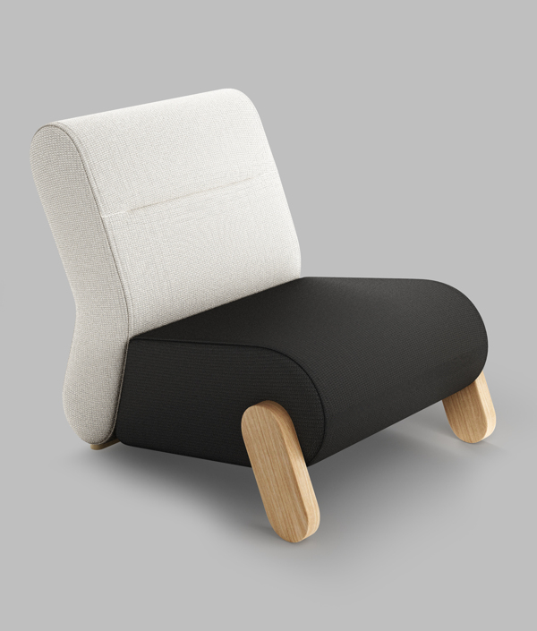 Base easy chair by redo design studio for Easy chair designs