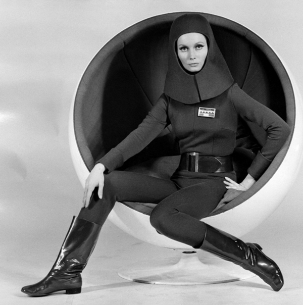 Ball Chair in Moon Zero Two