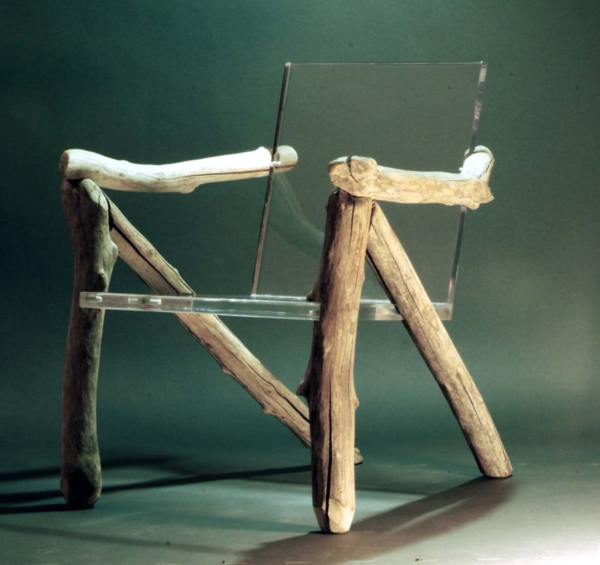 Bare Bones Ghost Chair by Ben Forgey Side