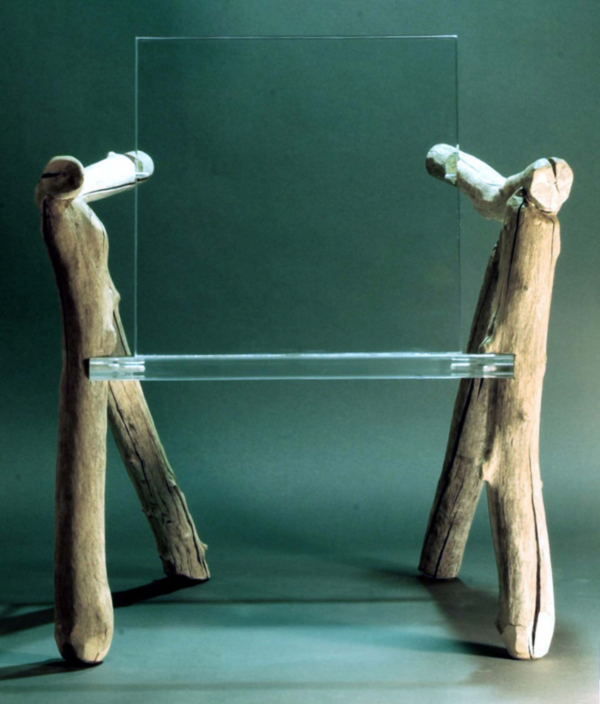 Bare Bones Ghost Chair by Ben Forgey Front