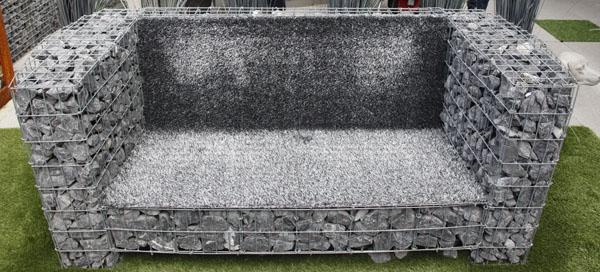DIY Basalt Sofa Front