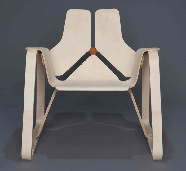 Bent-Lam-Chair-by-Kyle-Chambers-Front-view