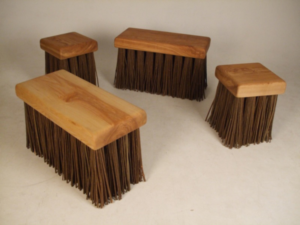 Big Scrubber Stool and Bench