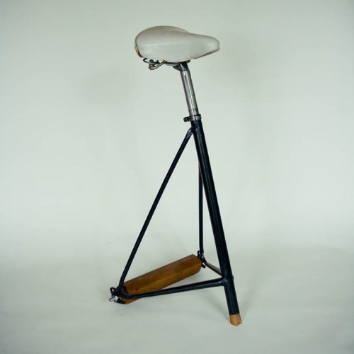 Bicycle Stool by Jerome Pierre