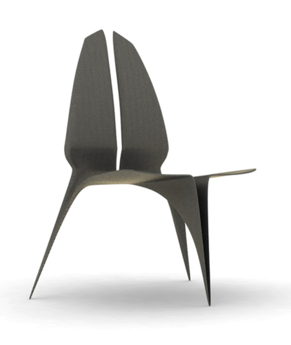 Black Diamond Chair by Ruben Constanço