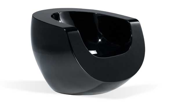 Black Moon Chair by Mike To