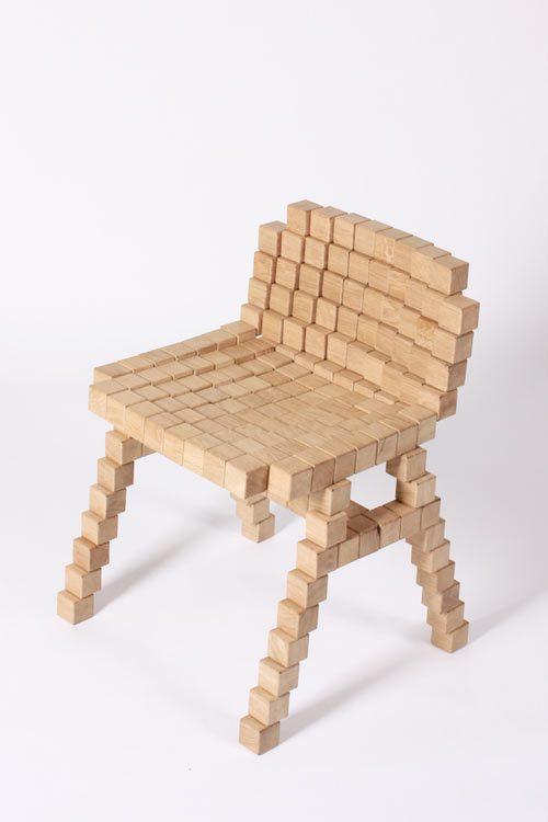 Blocks Chair by Erik Stehmann